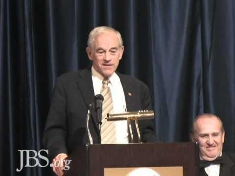 Ron Paul's Keynote Speech at the 50th Anniversary of JBS