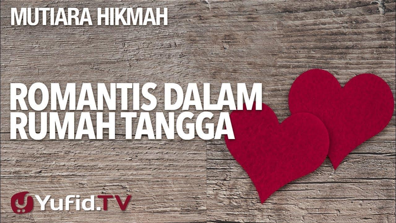 Romantis Dalam Rumah Tangga Ustadz Ahmad Zainuddin Lc