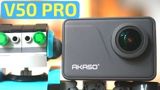 Akaso V50 Pro Native 4K Action Camera - Unboxing, Review and Tests