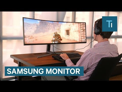 Samsung released the widest computer monitor you can buy