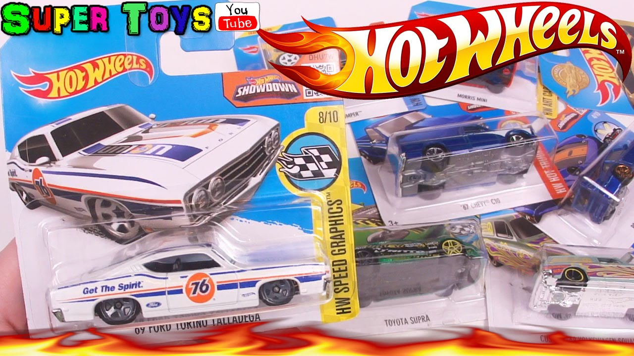 Машинки Хот Вилс Hot Wheels и Автовоз Car Trailer. - YouTube