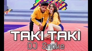 DJ Snake - Taki Taki feat. Selena Gomez , Cardi B & Ozuna || Abhishek X Anjali