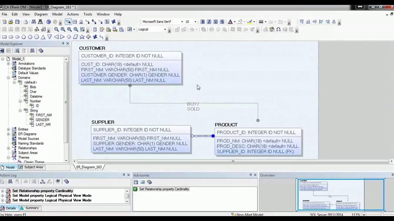 08 erwin data modeler tool tutorial modeling notations youtube erwin data modeler tool tutorial modeling notations ccuart Images