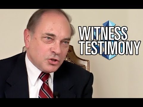 UFO Cover-Up -  Dr. Paul Czysz Testifies