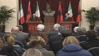 A1 Report - Napolitano ne Tirane: Do te fitojme kauzen