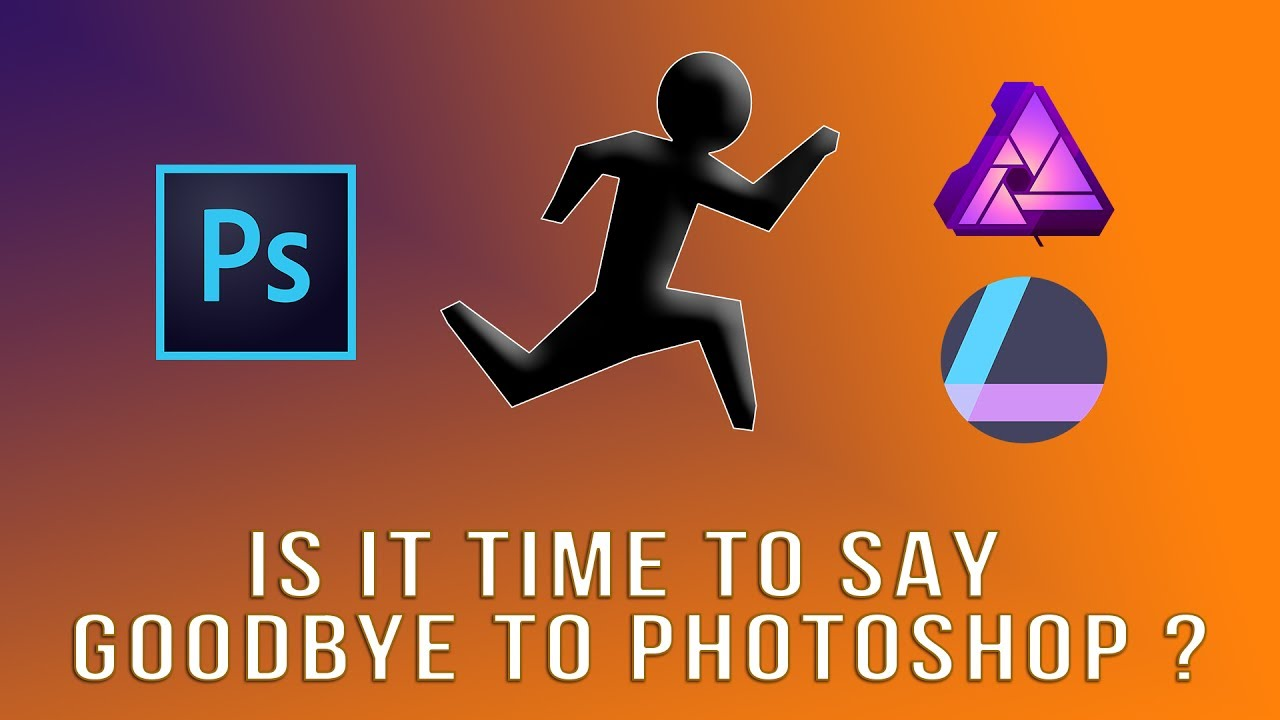 Is it time to say goodbye to Photoshop ? ft Affinity Photo & Luminar