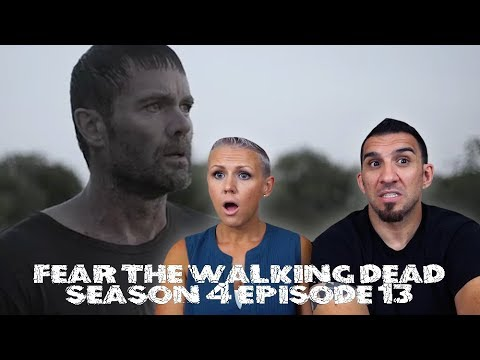 Fear the Walking Dead Season 4 Episode 13 'Blackjack' REACTION!!