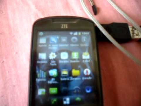 Zte racer usb host otg.AVI