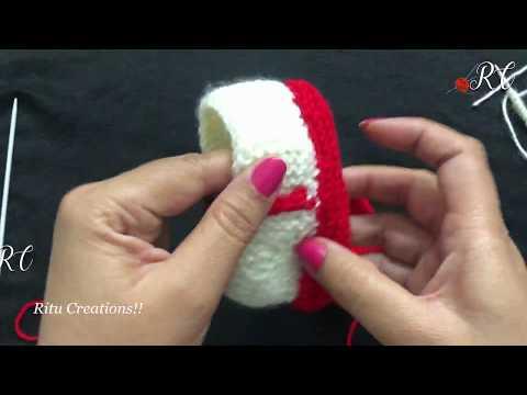 Knitting Baby Sleepers (छोटे बच्चो के लिए जुराब )    Sweater Patterns video   