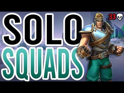 Realm Royale: Solo vs. Squads 33 Kill Game (Axe Warrior)