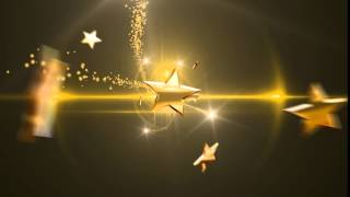 HD футаж ПЕРЕХОД ЗОЛОТЫЕ ЗВЕЗДЫ 2 2016 TRANS T ON GOLD STARS монтаж  Adobe Premiere