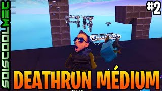 DEATHRUN MEDIUM, MOYEN MORT COURSE, CODE NOKSS, CREATIVE MODE, FORTNITE BR