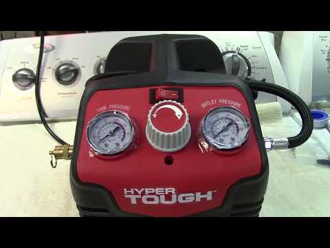 Hyper Tough 0.5 Gallon Inflator/Air Compressor Review