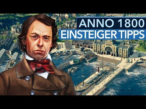 13 Einsteiger-Tipps für Anno 1800