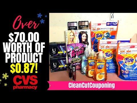 CVS HAUL VIDEO (8/12-8/18) FREEBIES, Easy Money Maker, Tíde & More! + Wet 'n Wíld Coupon Gíveaway!
