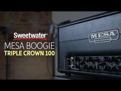 Mesa Boogie Triple Crown 100 Tube Amplifier Review