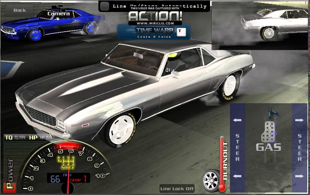 ev3 drag racing evolved 1969 vordeo carvero wheelie
