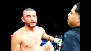Andre Direll's Trainer's Cowardly Attack On Boxer Jose Uzcategui After Being Disqualified (Shocking)