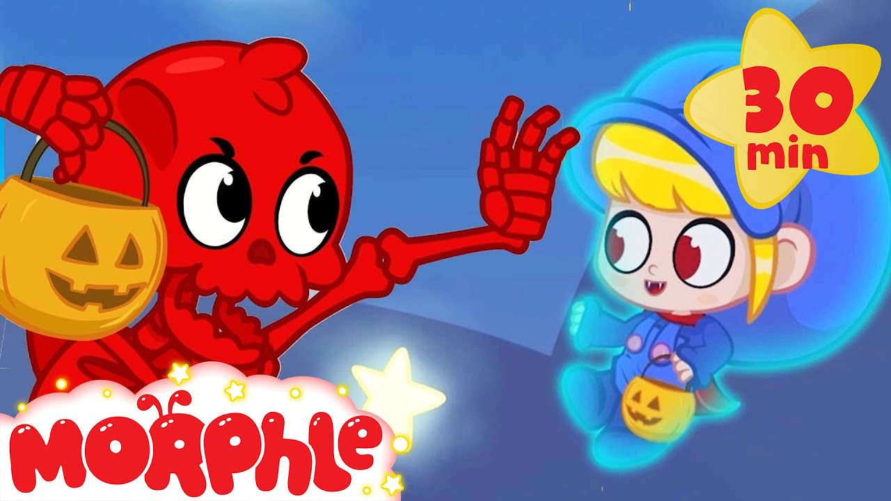 Morphles Spooky Halloween | My Magic Pet Morphle | Cartoons For Kids | Morphle TV Mila and Morphle