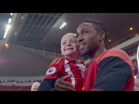Defoe's amazing friendship with ill boy