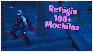 SHOWING THE SKIN REFUGE & 100 + BACKPACKS | FORTNITE