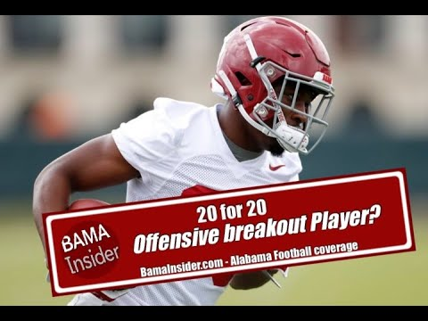 Will Trey Sanders Be Alabama's Breakout Player On Offense This Season?