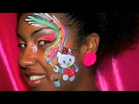 Hello Kitty Series Makeup Facepainting Youtube