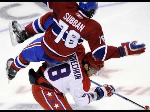 Biggest Hits on NHL Superstars