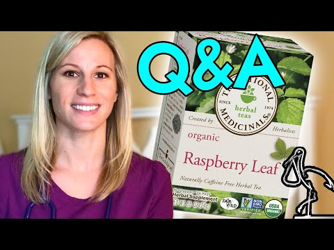 RED RASPBERRY LEAF TEA PREGNANCY | Your Questions Answered