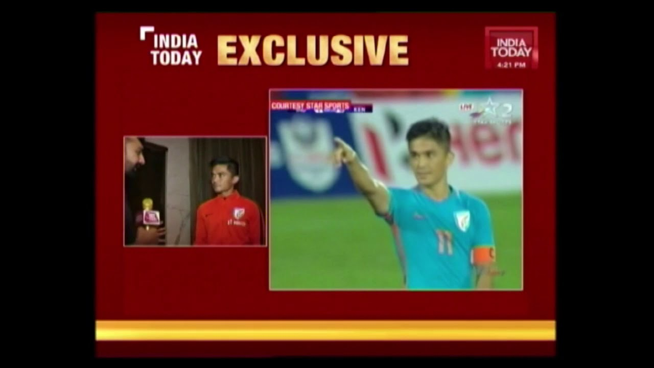 Sunil Chhetri Speaks To India Today Ahead Of Inter Continental Cup Final