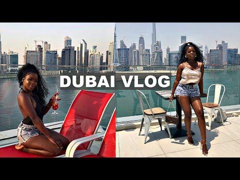 DUBAI TRAVEL VLOG | The Dubai mall, Burj khalifa, Jumeirah Beach, + more! | MsDebDeb