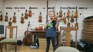 Chad Gets a NEW VIOLIN!!