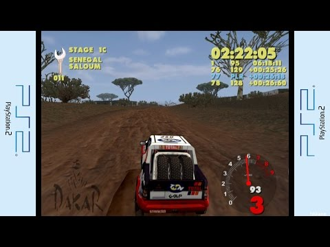 PS2 - Paris-Dakar Rally Gameplay P.1