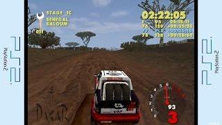 PS2 - Paris-Dakar Rally Gameplay P.1