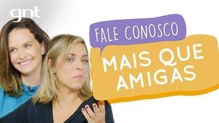 Fernanda Rodrigues faz a festa lendo os comentários com Júlia | #75 | Fale Conosco | Júlia Rabello