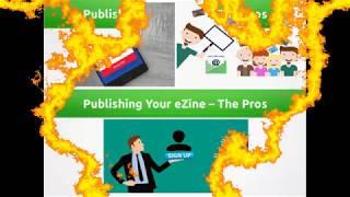 Publishing your ezine – the pros #ezinebusimess