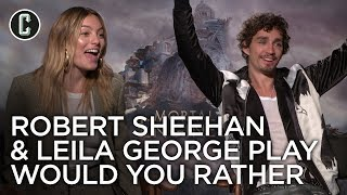 Mortal Engines: Robert Sheehan and Leila George Interview