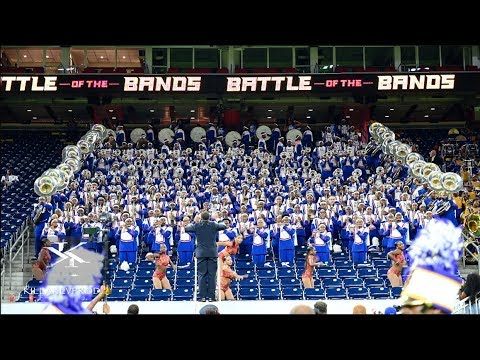 Tennessee State Vs Texas Southern University - NBOB Stands Battle - 2019