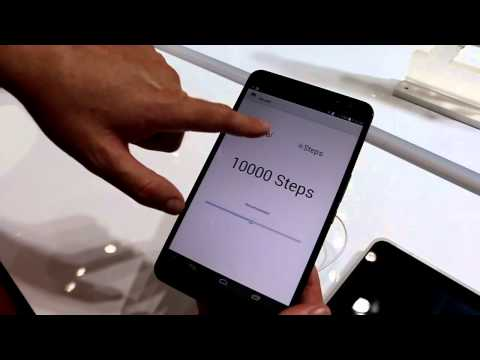 MWC 2014 | Huawei MediaPad X1 7.0 and TalkBand B1