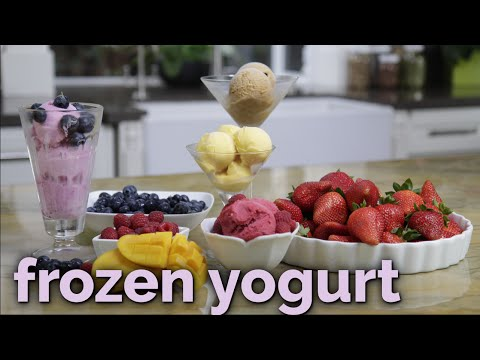 How to Make Nutritious Blueberry Frozen Yogurt   Cleanblend™ Blenders