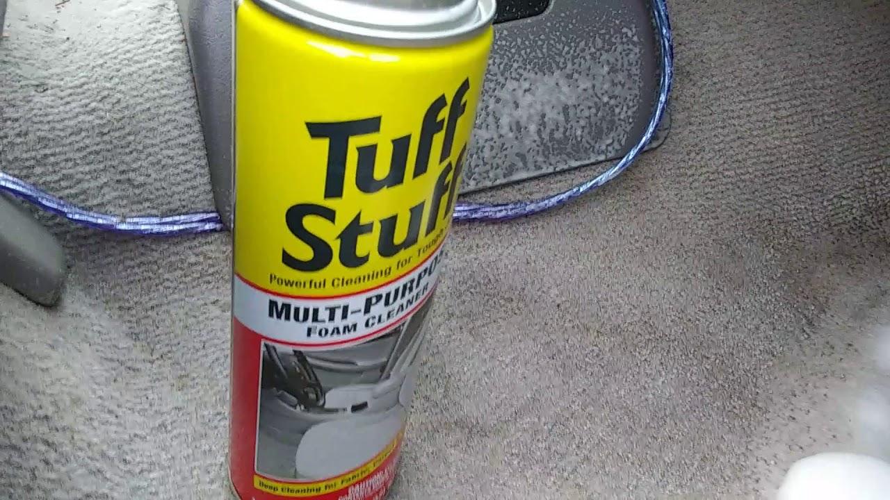 tuff stuff multi purpose foam cleaner test review youtube