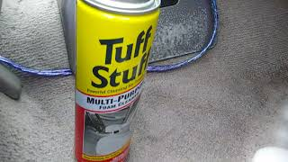 Tuff stuff multi purpose foam cleaner test review