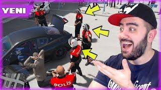 TÜRK POLIS MODU ILE HIRSIZLARI YAKALADIM (GTA 5 MODS)