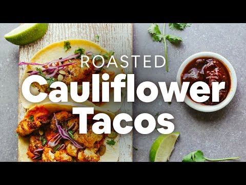 Roasted Cauliflower Tacos | Minimalist Baker Recipes