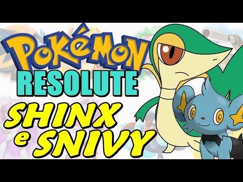 Pokémon Resolute (Detonado - Parte 2) - Snivy, Ovo Fada e Shinx