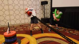 Functional Training with Suples Training Systems at IHRSA 2017 by Ivan Ivanov founder