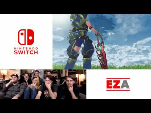 Xenoblade Chronicles 2 Reveal - Easy Allies Reactions