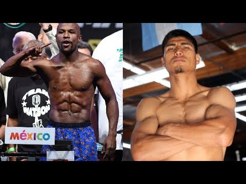 FLOYD MAYWEATHER VS MIKEY GARCIA SIDE TO SIDE WORKOUTS, WHO WINS AT 147LB?