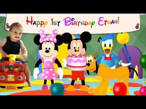 Disney's Mickey Mouse and friends Hotdog Song - Birthday Message