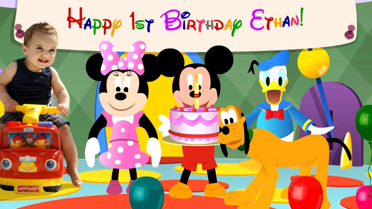 Disney's Mickey Mouse and friends Hotdog Song - Birthday ...